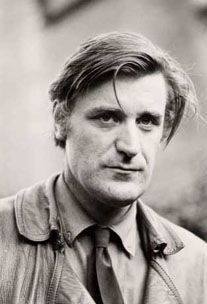 "Poet Ted Hughes, husband of Sylvia Plath ""If the moon smiled, she would resemble you. You leave the same impression. Of something beautiful, but annihilating."" Sylvia Plath"