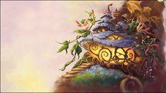 disney fairies house - Google Search