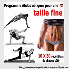Yoga-Get Your Sexiest Body Ever Without - Abdominaux obliques pour une taille fine et un ventre plat - In Just One Day This Simple Strategy Frees You From Complicated Diet Rules - And Eliminates Rebound Weight Gain Sport Motivation, Fitness Motivation, Fitness Del Yoga, Sixpack Training, Bodybuilding, Oblique Workout, Oblique Exercises, Workout Bauch, Body Challenge