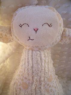rag doll sweet little cream lamb