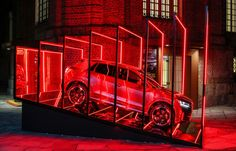 AUDI CLUB TO CLUB // We wanted something that would make people reverberate. Even before they get to the Club To Club speakers. Here you are. The Audi show becomes the perfect space for one of the most important dance music festivals in Europe. An LED ske…