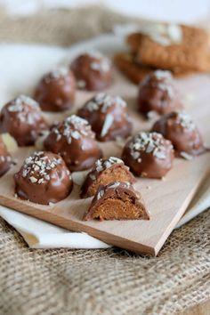 salted caramel speculaas truffels