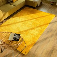 Add unequalled comfort to your interiors with our Buy Sunflower 861 Soft UNI Shaggy Rug. Shaggy Rug, Uni, Interior Decorating, Rug Features, Plush, Palette, Dining Room, Colour, Type