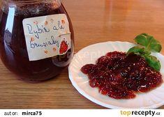 Brusinky z rybízu recept - TopRecepty.cz Food And Drink, Beef, Lemon, Syrup, Meat, Steak