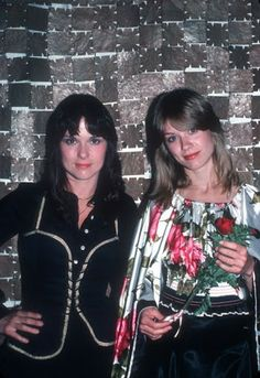 Ann and Nancy Wilson of Heart. I was Ann because of my brown hair, and my best friend Kelly was Nancy. We loved them so much!