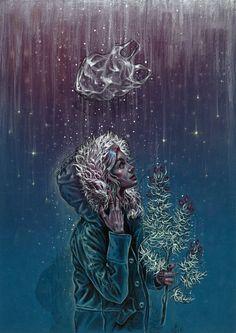 Blue Christmas by TanyaShatseva on DeviantArt
