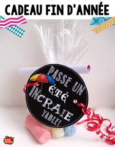 Cadeau de fin d'année / French End of year activity and gift School Age Activities, End Of Year Activities, French Teaching Resources, Teaching French, School Treats, School Gifts, School Stuff, End Of The Year Celebration, Student Teacher Gifts