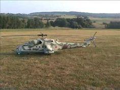 R/C Mi-24 Hind Helicopter Turbine Powered SICK!!