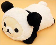 panda Rilakkuma white bear plush toy San-X 1