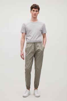 COS | Elastic-waist cotton trousers