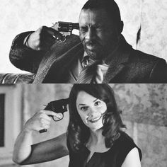 Luther and Alice. What a pair! Luther Bbc, Better Off Ted, Lincoln And Octavia, Ruth Wilson, His Dark Materials, Bbc America, Bad Influence, Idris Elba, Seinfeld