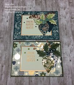 "Cheryl Algie ""Independent Stampin' Up! ® Demonstrator"" Sponsored Sponsored Cheryl Algie ""Independent Stampin' Up! Homemade Christmas Cards, Stampin Up Christmas, Christmas Cards To Make, Christmas Paper, Xmas Cards, Handmade Christmas, Homemade Cards, Holiday Cards, Stampin Up Anleitung"