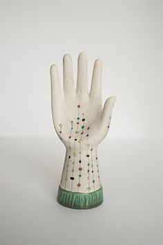 ... Starlight by artists Janna Ugone and Justin Thomas add a breath of  fresh air to any room!Unique, glazed ceramic hand sculpture or jewelry  holder.