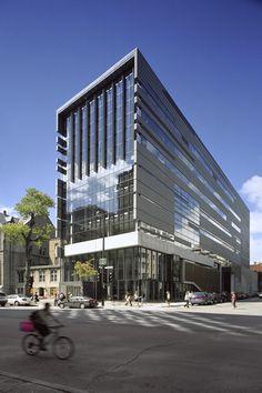 New Pavilion for the McGill University Schulich School of Music / Saucier + Perrotte architectes