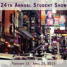 Copley Society of Art  Red Room Gallery   24th Annual Student Show  February 13 - April 25, 2013  Opening Reception:  Wednesday, February 13| 5:30 - 7:30 pm