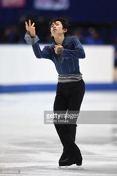 ニュース写真 : Koshiro Shimada of Japan competes in the Men's...