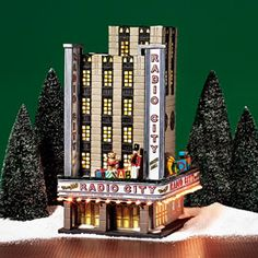 "Christmas in the City Series - ""Radio City Music Hall""  (retired)"