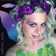 """Pin for Later: 25 Ethereal Makeup Transformations to DIY Your Halloween """"Fairy"""" Tale"""