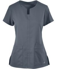 Looking for affordable scrubs that come in every color? Find high quality solid scrub tops, nursing uniforms and medical uniforms today at Uniform Advantage! Medical Uniforms, Hospital Uniforms, Scrubs Pattern, Uniform Advantage, Medical Scrubs, Nursing Dress, Scrub Tops, Work Wear, Dresses For Work