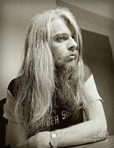 Leon Russell 1970 Photograph by Martin Konopacki Restoration