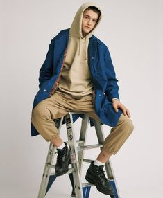 b0d57c097 66 amazing COLOUR BLOCKING images in 2019 | Man fashion, Jacket, Men ...