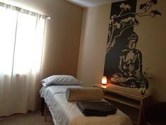 Reiki / Massage room  love the Buddha  on the wall !
