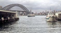 Sydney Ferries, Sydney Harbour Bridge, View Image, Black Backgrounds, River, Photos, Pictures, Rivers