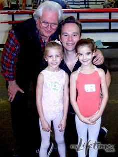 Dance Moms Brooke and Paige childhood pictures omg there sooo small:)