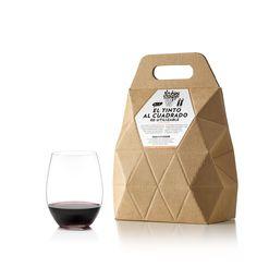Packaging de Nutcreatives para El tinto al cuadrado