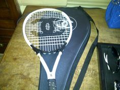 chanel tennis racket.....just for fun!