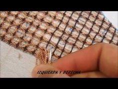 PASO A PASO PUNTADA CENTRO GIRASOL /COMO HAGO LOS NUDOS - YouTube