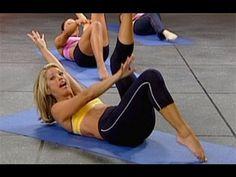 Denise Austin: Abs & Back Workout Level 1 - YouTube