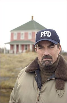 Tom Selleck is Chief Jesse Stone of the Paradise Police Department. Love him, loved Magnum, Paradise and now his new show.