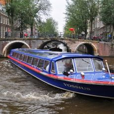 Canal cruise in autumn