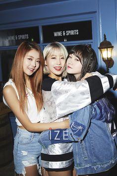 Pristin Nayoung, Yuha & Kyla