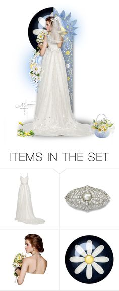 """""""Miss Daisy Says """"I Do"""""""" by mimi1207 ❤ liked on Polyvore featuring art"""