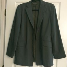 Banana Republic Blazer Banana Republic Blazer. Size 8. Not sure what to call the color; sort of like a forest green. Dry clean only. Banana Republic Jackets & Coats Blazers
