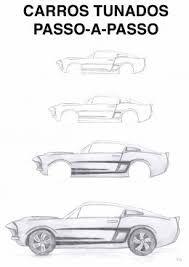 Resultado de imagem para desenho de lado de carros tunados