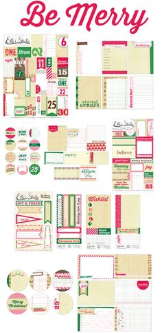Elle's Studio: CHA Summer Reveal - Be Merry - tags! Elle's tags really are top notch!