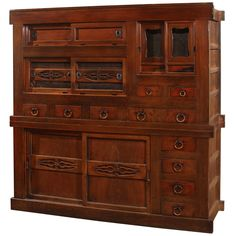 Japanese Kitchen Pantry Chest | From a unique collection of antique and modern furniture at http://www.1stdibs.com/furniture/asian-art-furniture/furniture/