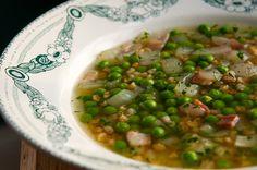 Spring Pea and Farro Soup Recipe | Food Recipes - Yahoo Shine