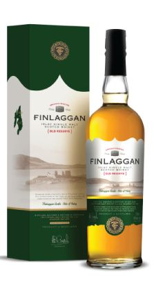 Finlaggan Old Reserve. A mystery Islay single malt by Finlaggan's owners the Vintage Malt Whisky Co. Despite the not knowing the distillery which produces this whisky is located there is no doubt about its value.