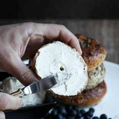 Smoky Black Pepper Cream Cheese. Dairy-free, homemade and to die for. Will amaze dairy-lovers. Made from cashews.