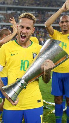 Brazil Football Team, Neymar Football, Goals Football, Chelsea Football, Psg, Steven Gerrard, Premier League, Neymar Jr Wallpapers, Football Updates