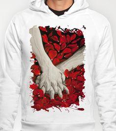 Hands Hoody by Maria Bozina - $38.00