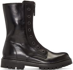 DIESEL Black Military Combat Boots. #diesel #shoes #boots