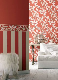 Wallpaper and styling by Hume Internationale.