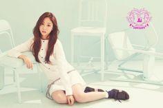 Seo Ji Soo is alluring in her own teaser image for Lovelyz comeback   allkpop.com