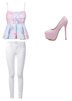 """""""Going to a garden"""" by kisslovegaby on Polyvore"""