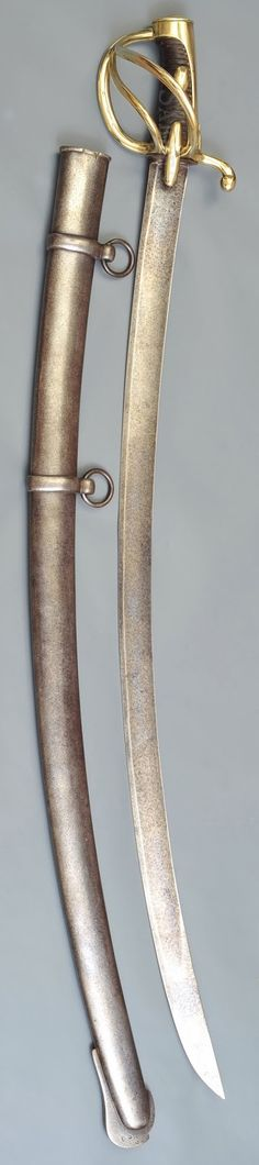Collection de Sabres et Epées des Guerres Napoléoniennes: Sabre AN XI de cavalerie légère Modèle